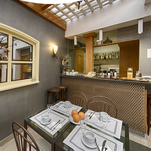 Sala da pranzo Hostal San Lorenzo