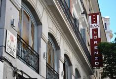 Facciata hotel san lorenzo madrid
